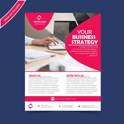 design a flyer template flyer brochure design template free wisxi