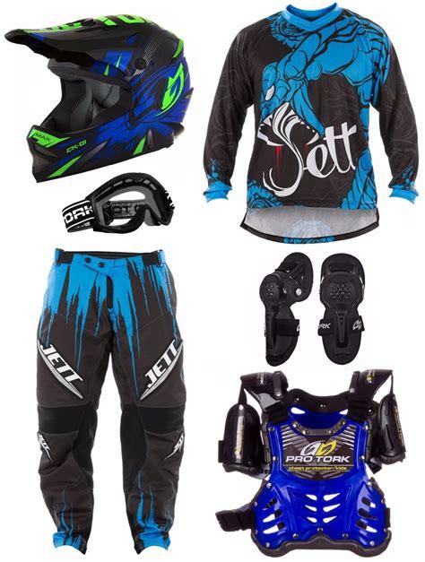 jett motocross kit equipamento pro tork jett veneno motocross infantil