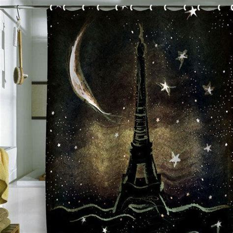 paris themed shower curtain 17 best images about curtain canvas on pinterest home