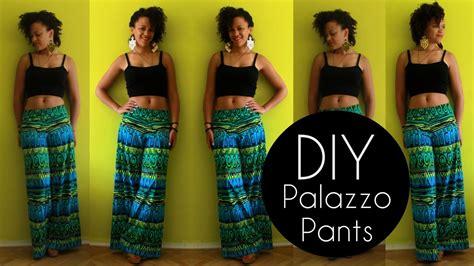 diy palazzo pants  min  sewing pattern diy