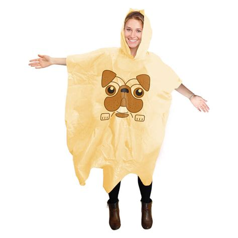 poncho the pug pug poncho buy from prezzybox