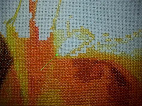 Pin Stitch pin stitch or pinhead stitch start advanced cross stitch