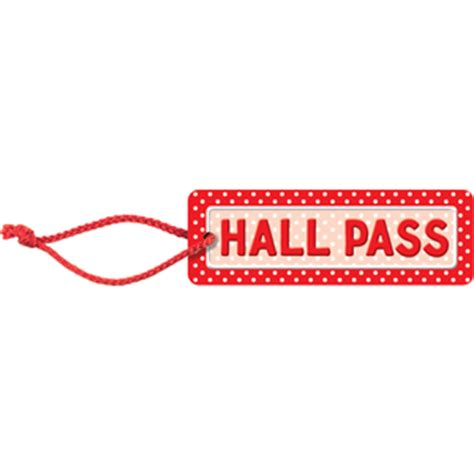 hallway pass polka dots hall pass tcr4753 teacher created resources