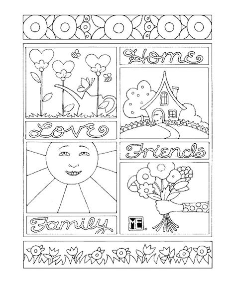 engelbreit coloring book magnificent engelbreit flowers coloring pages images