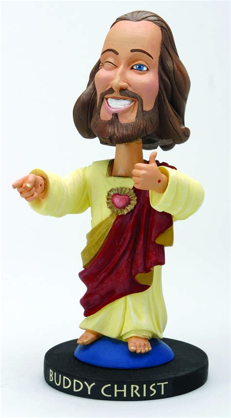 bobblehead jesus thumbs up for buddy graveyard torn
