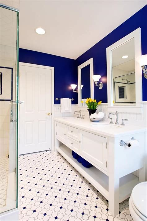 bright beautiful blue bathrooms furniture home small master bath with a big vision by drury design
