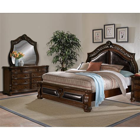 queen bedroom set sale neo classic 5 piece queen bedroom set black value city
