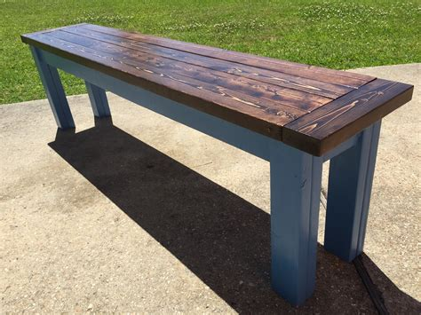 ana white table bench ana white farmhouse table bench diy projects