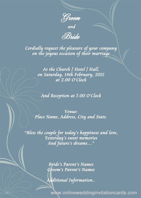 free electronic wedding invitations templates electronic invitations free reglementdifferend
