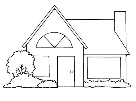 house outline free of house outline clipart the cliparts