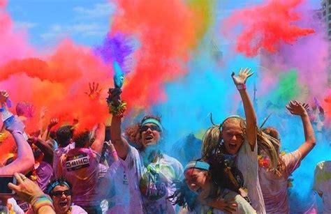the color run the color run tropicolor world tour makes a splash in