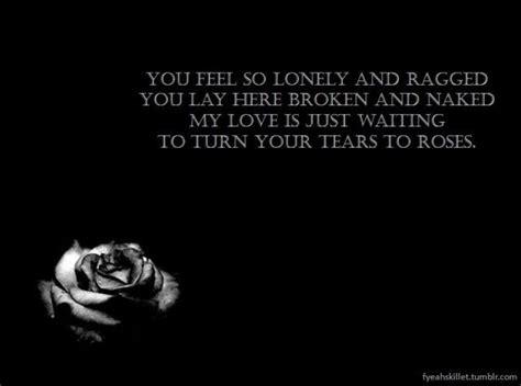 conejo tattoo tears lyrics skillet song quotes quotesgram