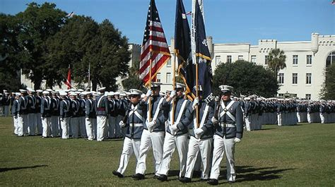 The Citadel Mba Curriculum by Manning Graduates From Citadel