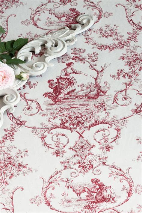 Atelier Abassi by Toile De Jouy Stoff Grimaud Landhausstoffe Toile