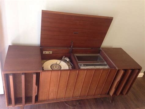 zenith vintage  stereo record player console model