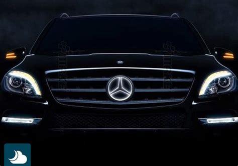 Mercedes Light Up Emblem by White Led Illuminated Kit Light Up Center Grille Emblem For Mercedes C W204