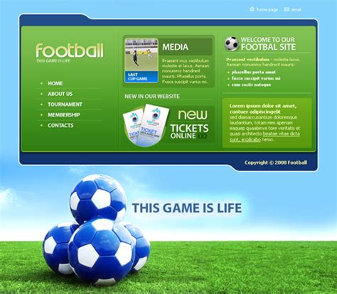 sports templates 3494 sports fitness website templates dreamtemplate