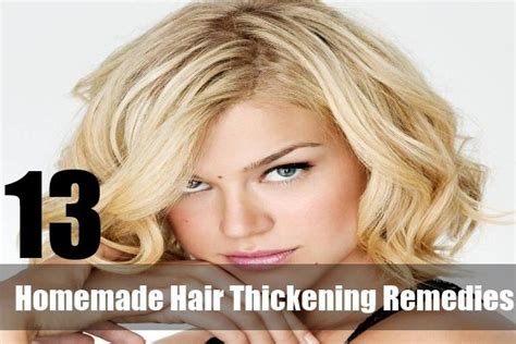 homemade hair thickening treatments die besten 17 ideen zu hair thickening remedies auf