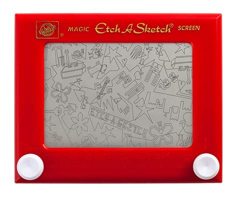 Things To Draw On Etch A Sketch by Classic Etch A Sketch Magic Screen New Free Shipping Ebay