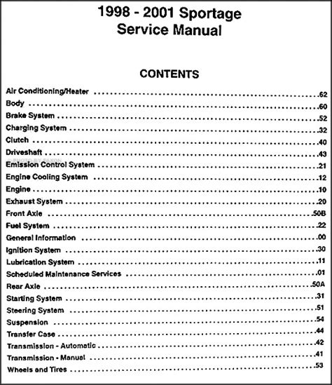 car service manuals pdf 1998 kia sportage regenerative braking service manual free owners manual for a 2001 kia sportage 2000 kia sportage repair manual free
