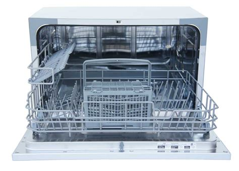 Spt Countertop Dishwasher White by Spt Sd 2224dw Countertop Dishwasher With Delay Start