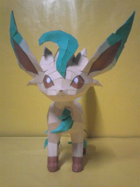 Leafeon Papercraft - leafeon papercraft by rafex17 on deviantart