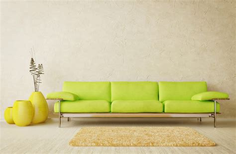 Green Sofa Living Room by Living Room Interior Design Ideas With Green Sofa 3d