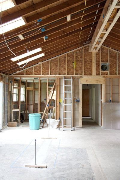 vaulting  ceiling ranch house remodel ranch remodel