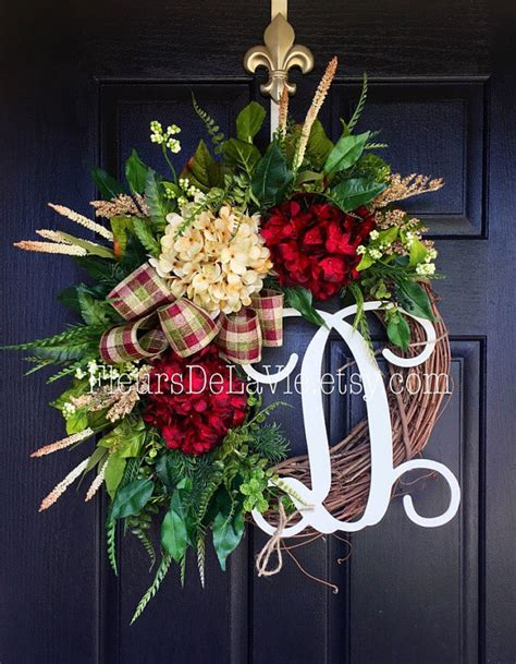 decorative wreaths for the home winter wreaths for front door year round wreath by