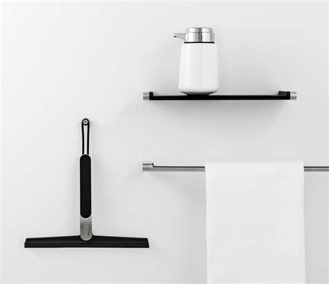 squeegee bathroom vipp 2 shower squeegee black steel by vipp