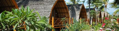trawangan dive hotel traditional lumbung bungalows manta dive