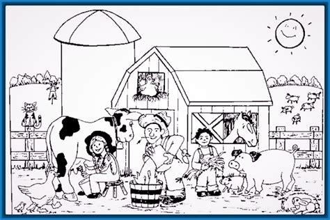 imagenes de animales de granja para imprimir a color dibujos para colorear e imprimir animales de granja