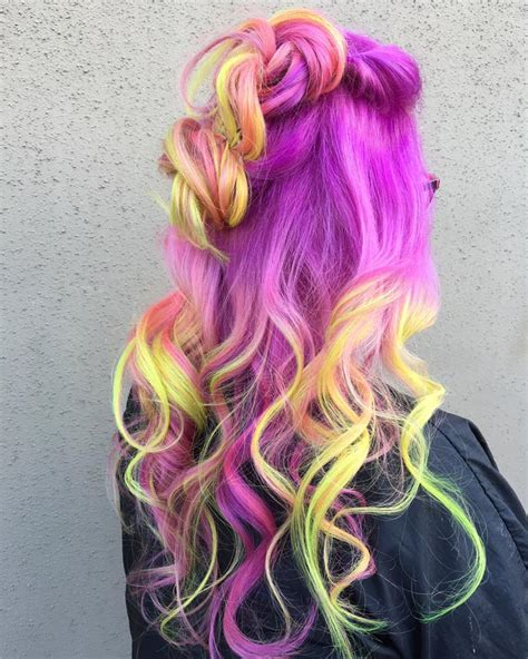 and hair color hair in the bright hair colors category