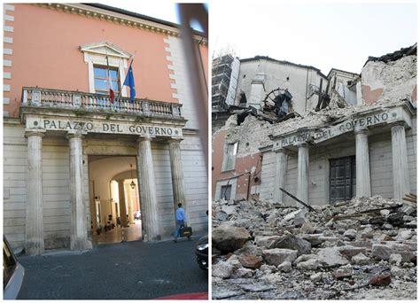 prefettura di napoli sede legale l aquila prima e dopo il terremoto photogallery news