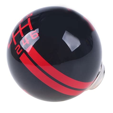 Cobra Shifter Knob by For Ford Mustang Car Black Cobra Stripe 6 Speed Shift