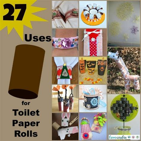 Crafts You Can Do With Toilet Paper Rolls - 36 uses for toilet paper rolls favecrafts