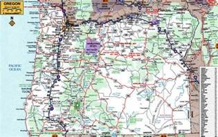 driving map of oregon large roads and highways map of oregon state with cities