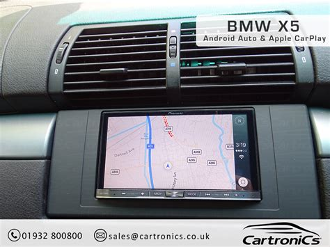 radio bmw x5 bmw x5 radio nav din upgrade with apple carplay