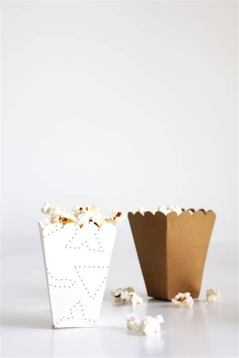 popcorn box printable  diy  flair exchangethe flair exchange