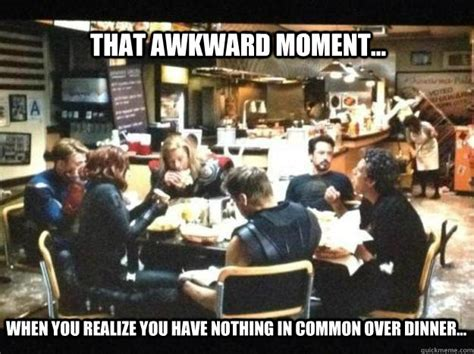 Meme Restaurant Nyc - that awkward moment when you realize you have nothing in