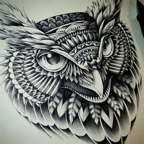 tattoo owl tribal tribal owl tattoo tumblr