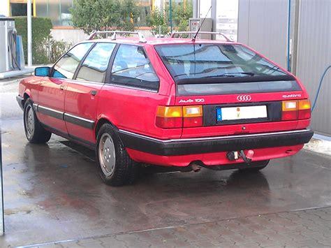 Audi Sport Werbung by Audi 100 C3 Avant Quattro