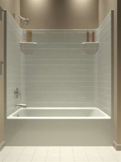bathtub shower stall 25 best ideas about one piece tub shower on pinterest