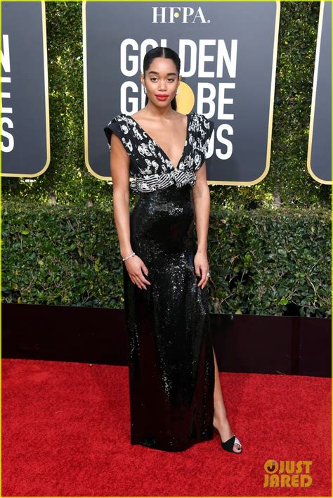 laura harrier old laura harrier gets glam on the red carpet at golden globes