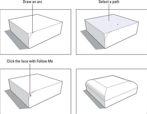 sketchup layout rounded rectangle how to subtract from a sketchup model with follow me dummies
