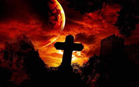 imagenes de halloween tenebrosas cruz en el cementerio im 225 genes de miedo y fotos de terror