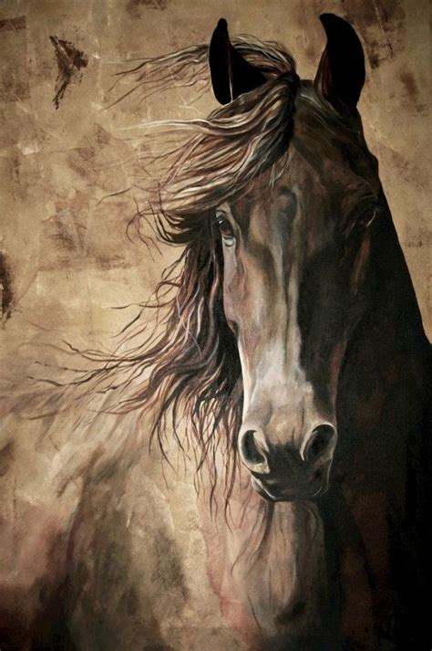 painting horses best 20 ideas on