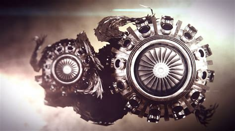 wallpaper engine location is not available abstract turbine steunk sci fi engine engines wallpaper