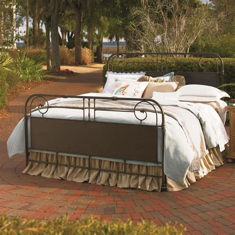 bed gate universal down home king garden gate bed belfort