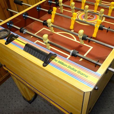 million dollar foosball table 1978 tournament soccer the million dollar foosball